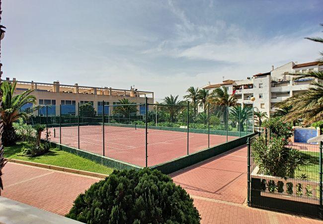 Appartement de vacances Apart. mit Meerblick 2. Stock, gratis WiFi, Gemeinschaftspool, Tennis (2069735), La Manga del Mar Menor, Costa Calida, Murcie, Espagne, image 25