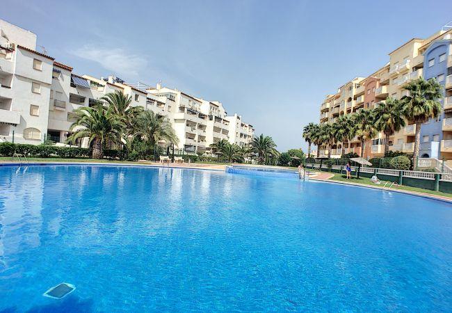 Appartement de vacances Apart. mit Meerblick 2. Stock, gratis WiFi, Gemeinschaftspool, Tennis (2069735), La Manga del Mar Menor, Costa Calida, Murcie, Espagne, image 1