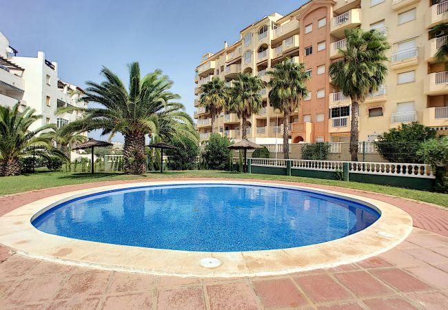 Appartement de vacances Apart. mit Meerblick 2. Stock, gratis WiFi, Gemeinschaftspool, Tennis (2069735), La Manga del Mar Menor, Costa Calida, Murcie, Espagne, image 26