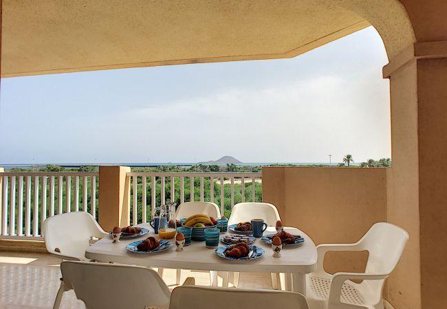 Appartement de vacances Apart. mit Meerblick 2. Stock, gratis WiFi, Gemeinschaftspool, Tennis (2069735), La Manga del Mar Menor, Costa Calida, Murcie, Espagne, image 20