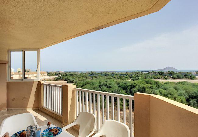 Appartement de vacances Apart. mit Meerblick 2. Stock, gratis WiFi, Gemeinschaftspool, Tennis (2069735), La Manga del Mar Menor, Costa Calida, Murcie, Espagne, image 21