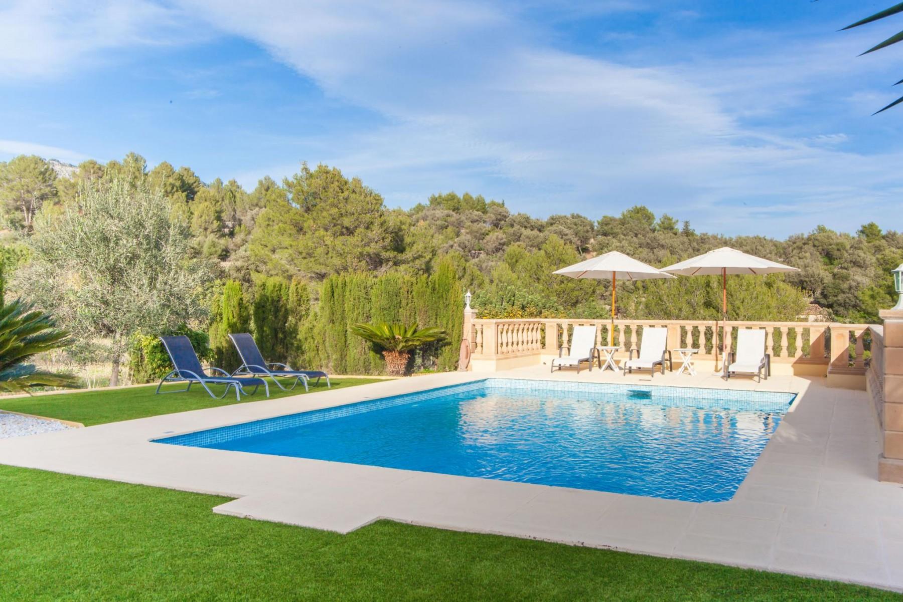 MANCORINA for 7 guests in Mancor de la Vall, Spanien