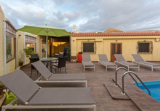 Ferienhaus GC15 VILLA RURAL PRIVATE POOL (2176907), Sardina, Gran Canaria, Kanarische Inseln, Spanien, Bild 4