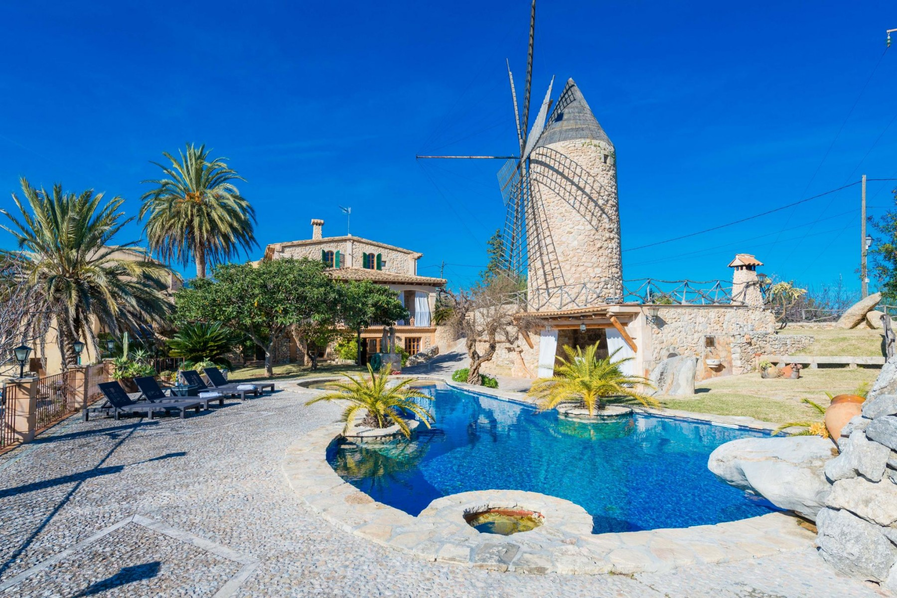 MOLI DE CAN PORRET for 8 guests in Campanet, Spanien