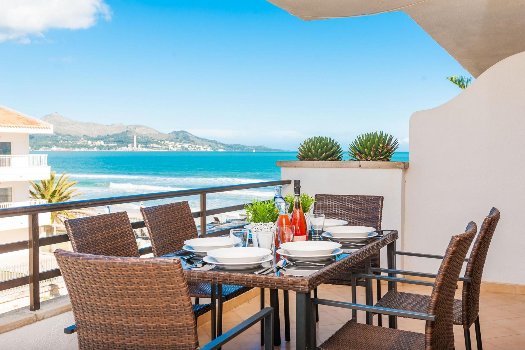 BELLAVISTA for 6 guests in Alcudia, Spanien