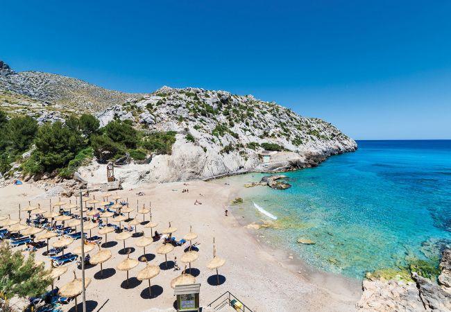 Holiday house Beach Villa Pep (2232216), Cala Sant Vicenç, Majorca, Balearic Islands, Spain, picture 2