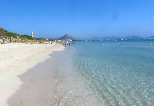 Holiday house Beach Villa Pep (2232216), Cala Sant Vicenç, Majorca, Balearic Islands, Spain, picture 21
