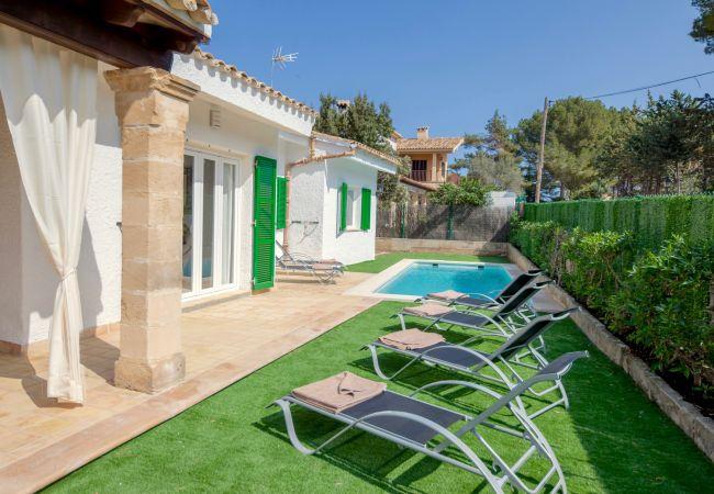 Holiday house Beach Villa Pep (2232216), Cala Sant Vicenç, Majorca, Balearic Islands, Spain, picture 1
