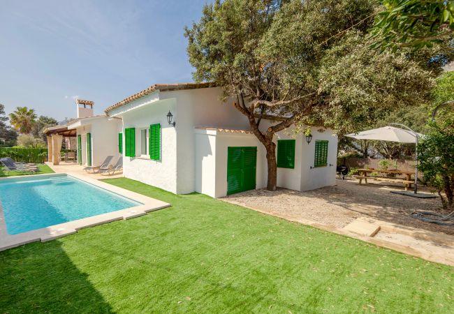 Holiday house Beach Villa Pep (2232216), Cala Sant Vicenç, Majorca, Balearic Islands, Spain, picture 3