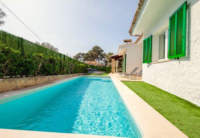 Holiday house Beach Villa Pep (2232216), Cala Sant Vicenç, Majorca, Balearic Islands, Spain, picture 5