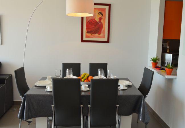 Appartement de vacances Wohnung im 1. Stock, Meer- und Poolblick, gratis WiFi. (2222939), La Manga del Mar Menor, Costa Calida, Murcie, Espagne, image 10