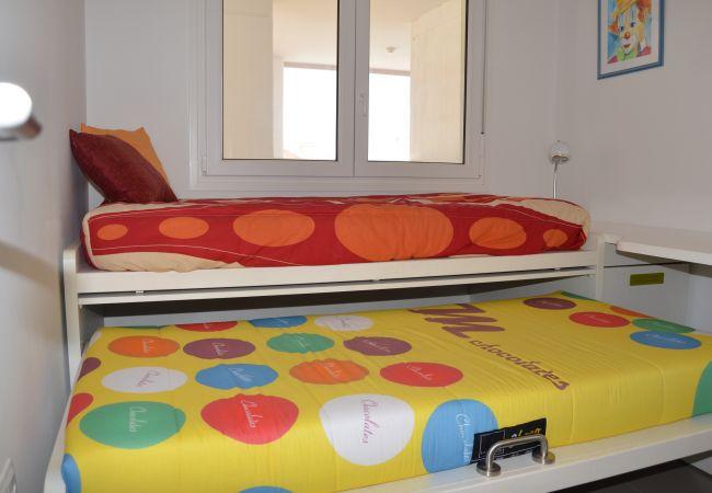 Appartement de vacances Wohnung im 1. Stock, Meer- und Poolblick, gratis WiFi. (2222939), La Manga del Mar Menor, Costa Calida, Murcie, Espagne, image 6