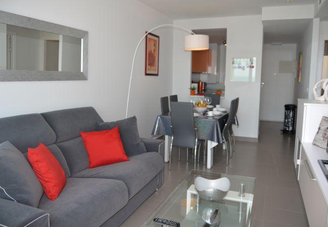 Appartement de vacances Wohnung im 1. Stock, Meer- und Poolblick, gratis WiFi. (2222939), La Manga del Mar Menor, Costa Calida, Murcie, Espagne, image 8