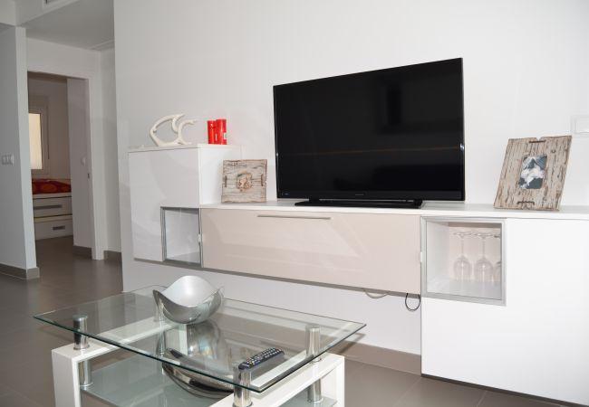 Appartement de vacances Wohnung im 1. Stock, Meer- und Poolblick, gratis WiFi. (2222939), La Manga del Mar Menor, Costa Calida, Murcie, Espagne, image 7