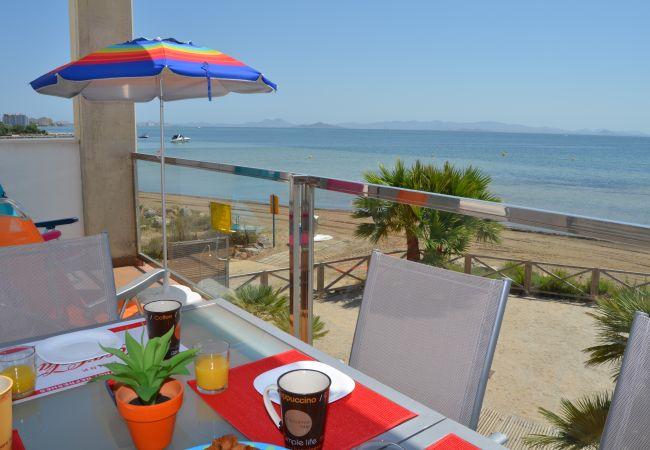 Appartement de vacances Wohnung im 1. Stock, Meer- und Poolblick, gratis WiFi. (2222939), La Manga del Mar Menor, Costa Calida, Murcie, Espagne, image 4
