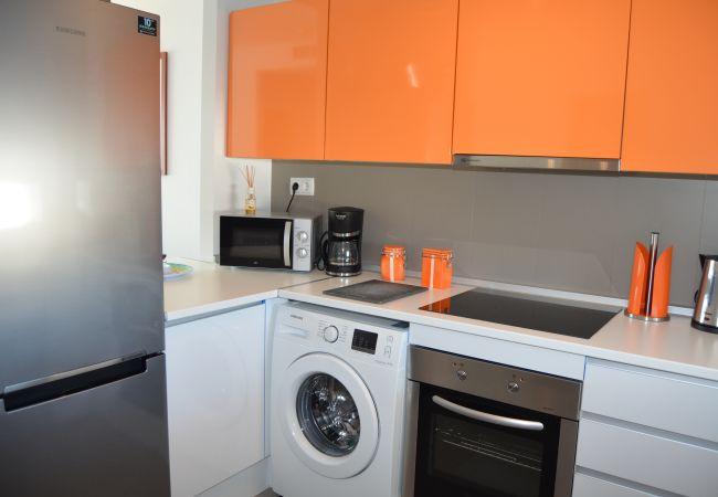 Appartement de vacances Wohnung im 1. Stock, Meer- und Poolblick, gratis WiFi. (2222939), La Manga del Mar Menor, Costa Calida, Murcie, Espagne, image 11
