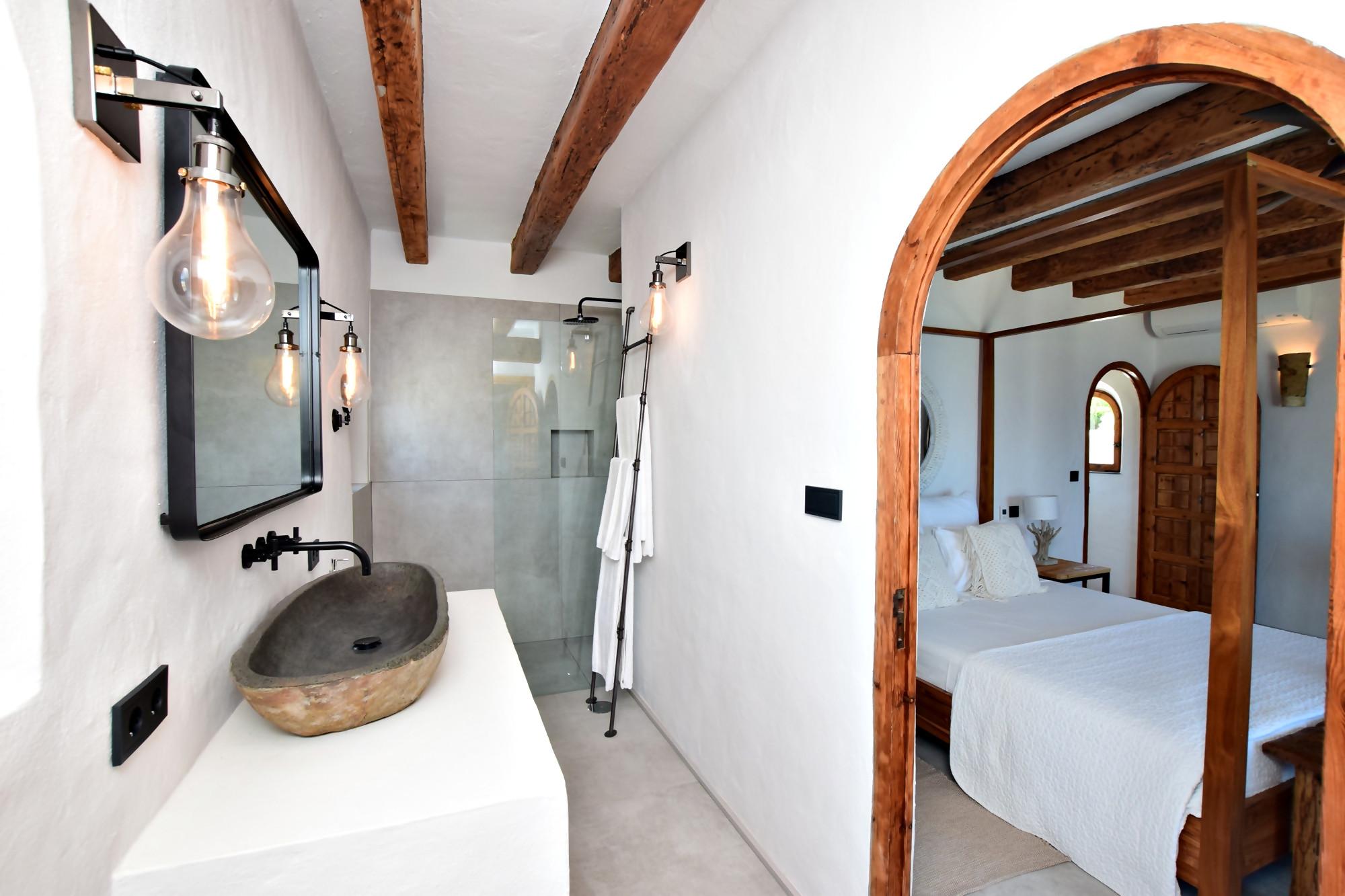 El Peñón - Baño ensuite dormitorio 2