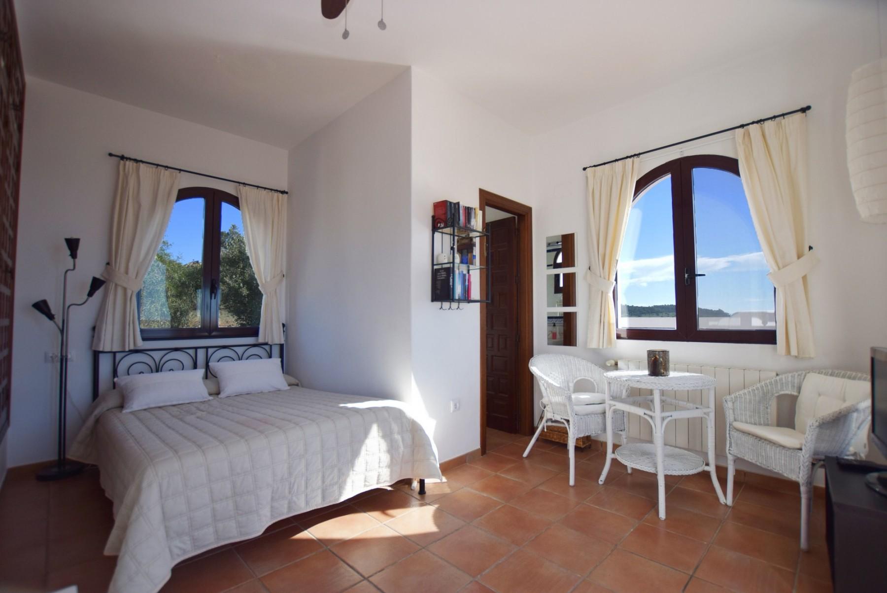 Casa Blanca - Dormitorio 2 con baño ensuite