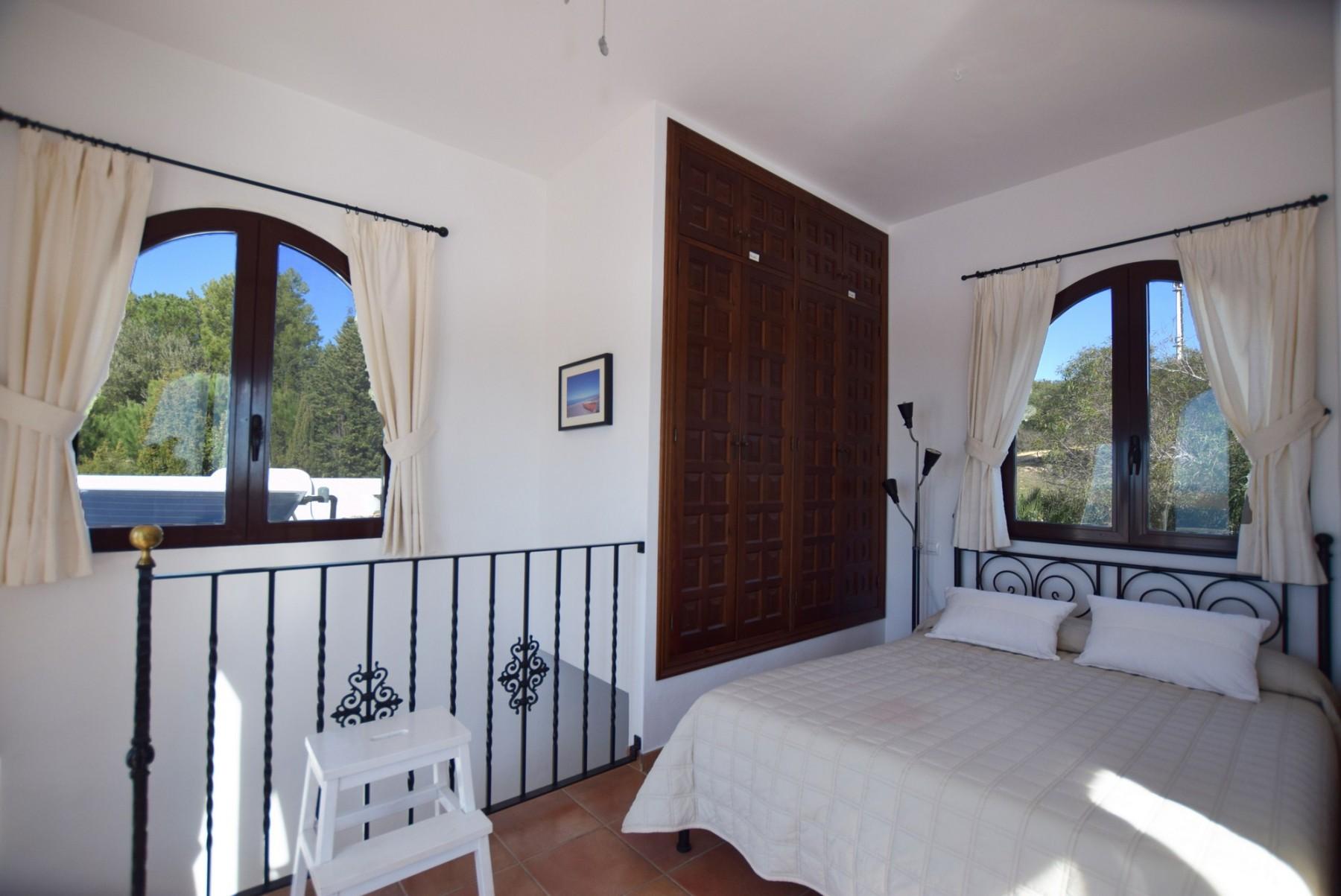 Casa Blanca - Dormitorio con baño ensuite