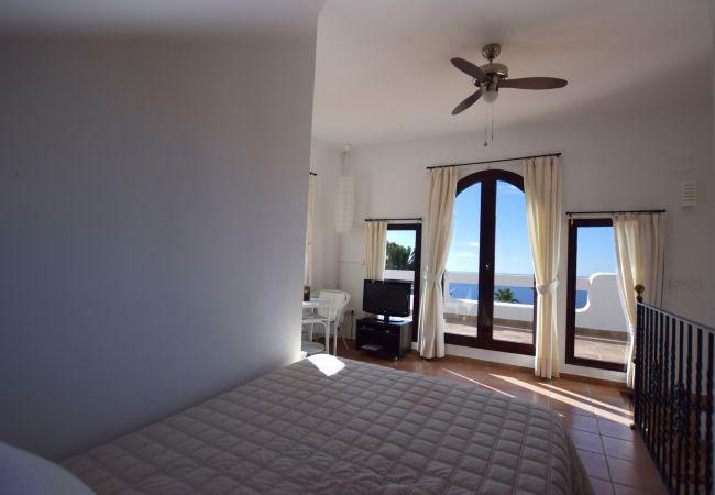 Casa Blanca - Dormitorio 2 con vistas al mar