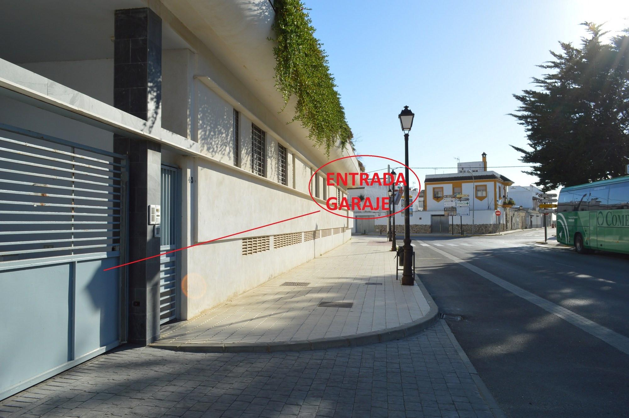 Aires de Zahara - Entrada Garaje