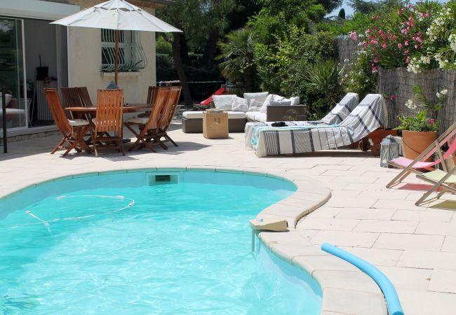 photo LE PRADET, Casa para 7 personas , piscina, BBQ, cerca de la playa