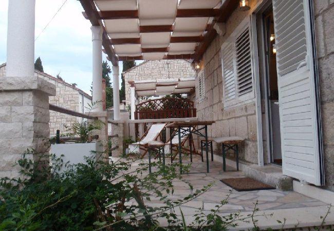 Holiday apartment 3555-1 für 3+1 Pers. in Korcula (2317727), Korčula, Island of Korcula, Dalmatia, Croatia, picture 14