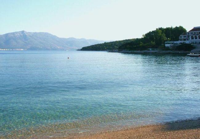 Holiday apartment 3555-1 für 3+1 Pers. in Korcula (2317727), Korčula, Island of Korcula, Dalmatia, Croatia, picture 1