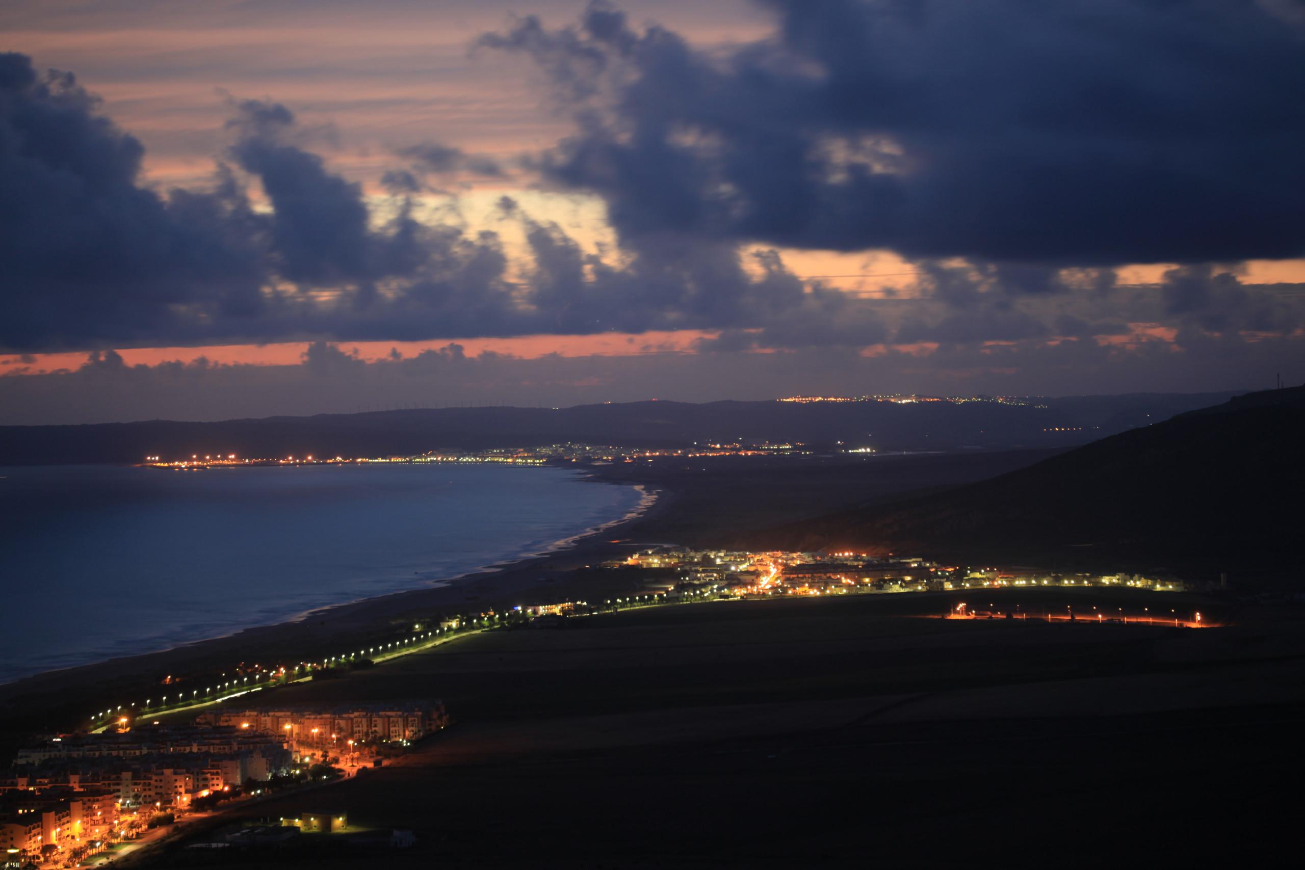 Las Dunas - Zahara de noche