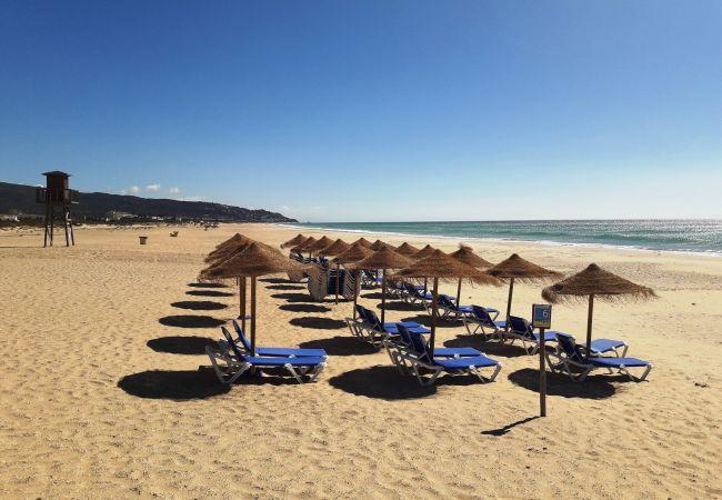 El Balneario - playa zahara hamacas