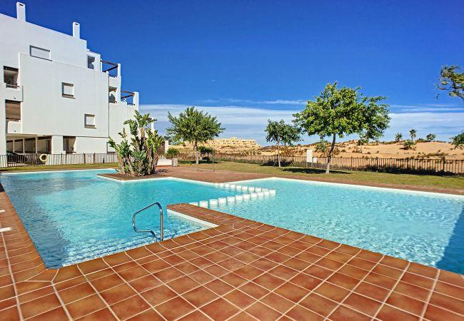 Appartement de vacances Erdgeschoss, Blick auf den Golfplatz, WLAN, Terrasse, Pool (2319920), Roldan, , Murcie, Espagne, image 10