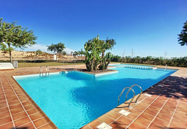 Appartement de vacances Erdgeschoss, Blick auf den Golfplatz, WLAN, Terrasse, Pool (2319920), Roldan, , Murcie, Espagne, image 11