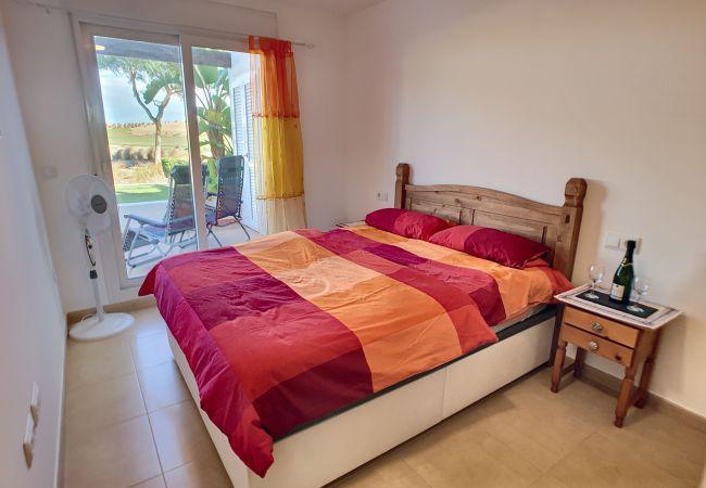 Appartement de vacances Erdgeschoss, Blick auf den Golfplatz, WLAN, Terrasse, Pool (2319920), Roldan, , Murcie, Espagne, image 2