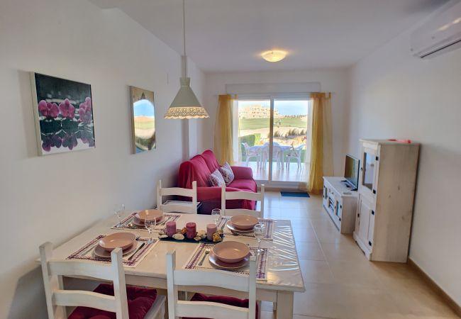 Appartement de vacances Erdgeschoss, Blick auf den Golfplatz, WLAN, Terrasse, Pool (2319920), Roldan, , Murcie, Espagne, image 5