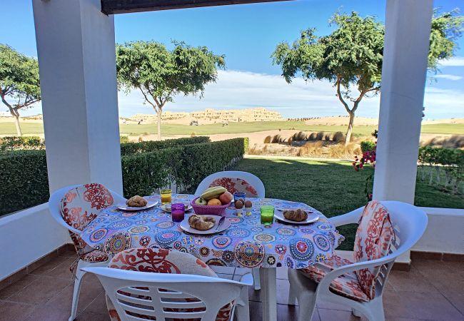 Appartement de vacances Erdgeschoss, Blick auf den Golfplatz, WLAN, Terrasse, Pool (2319920), Roldan, , Murcie, Espagne, image 9