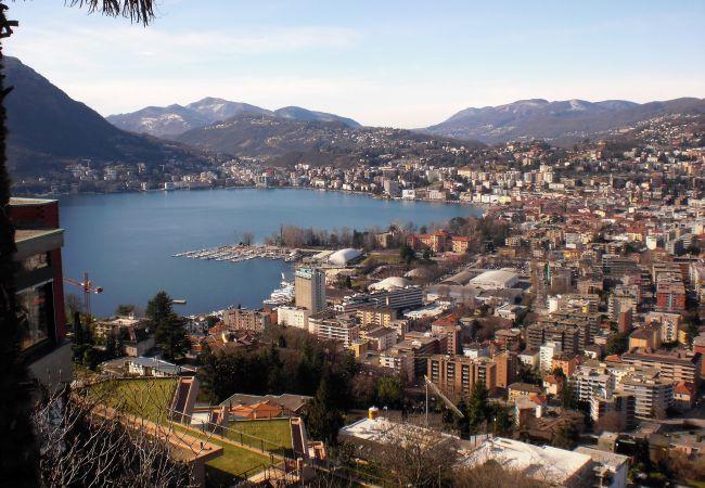 Ferienwohnung Lake and City Panorama in Lugano (2322928), Viganello, Lago di Lugano (CH), Tessin, Schweiz, Bild 3