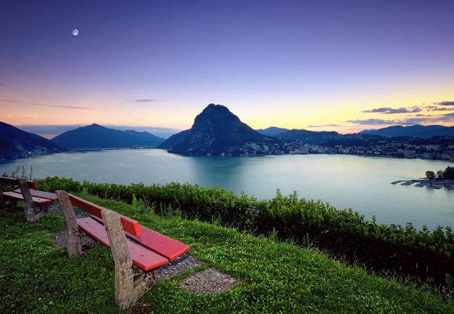 Ferienwohnung Lake and City Panorama in Lugano (2322928), Viganello, Lago di Lugano (CH), Tessin, Schweiz, Bild 14