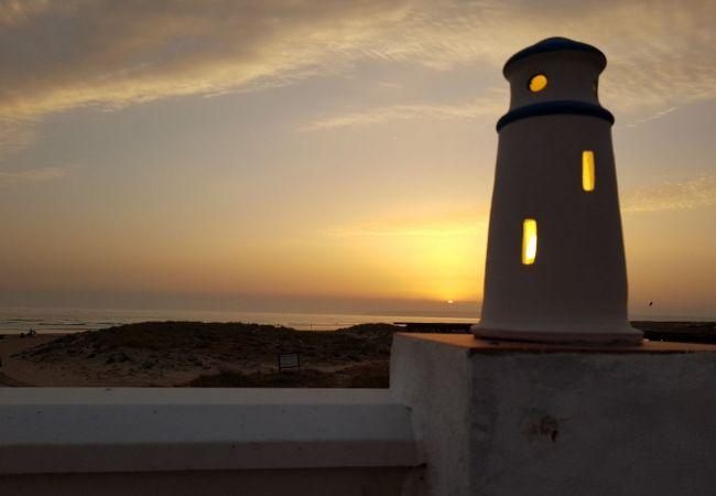 La Fortuna - foto pueblo puesta sol