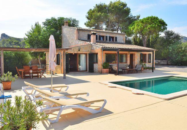 Oscols Alcúdia villa con piscina y chill out 121