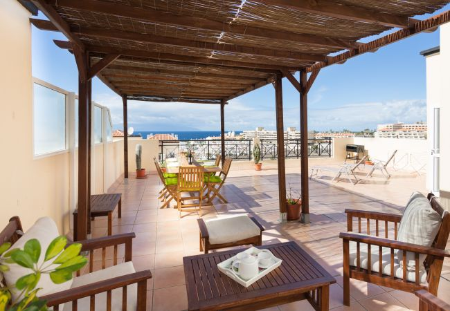 Appartement de vacances Penthouse Sunset with Pool and free Wifi (2367536), Adeje, Ténérife, Iles Canaries, Espagne, image 3