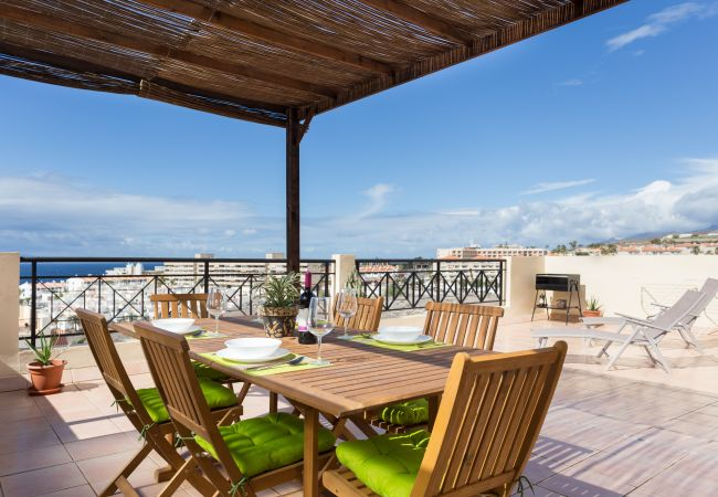 Appartement de vacances Penthouse Sunset with Pool and free Wifi (2367536), Callao Salvaje, Ténérife, Iles Canaries, Espagne, image 4