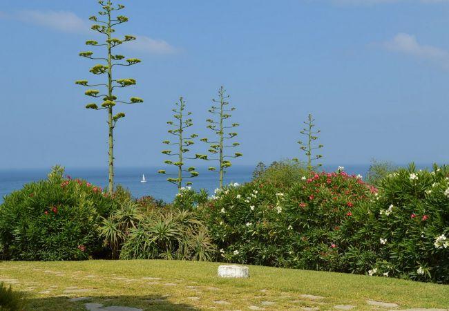 Sobre los Mares - Jardín con vistas