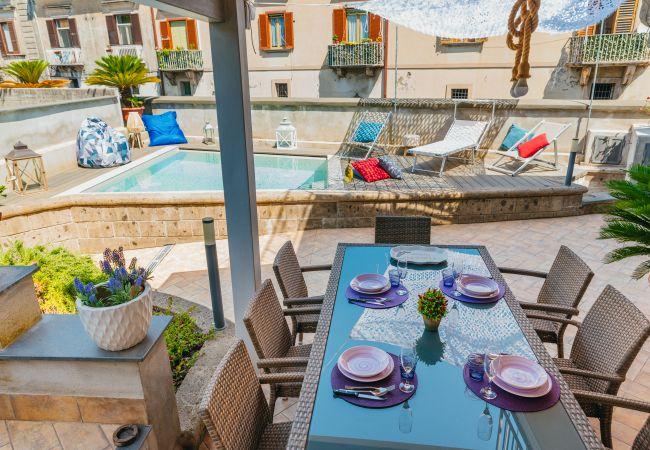 Ferienhaus Villa Totti with Private Pool, Garden, Parking and Elevator (2516709), Sant'Agnello, Amalfiküste, Kampanien, Italien, Bild 10