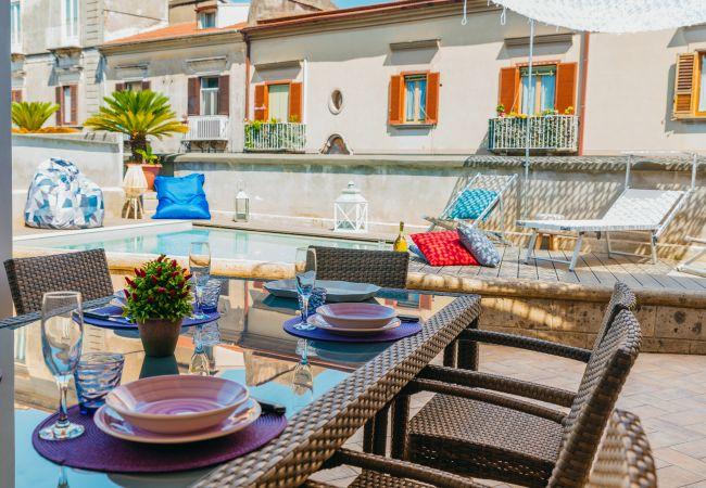 Ferienhaus Villa Totti with Private Pool, Garden, Parking and Elevator (2516709), Sant'Agnello, Amalfiküste, Kampanien, Italien, Bild 8