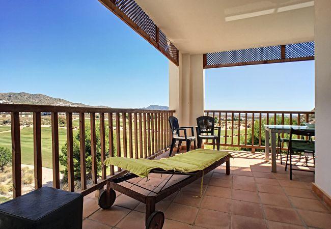 Appartement de vacances Frontlinie Golf, Gemeinschaftspool, gratis WiFi, Balkon (2454082), Baños y Mendigo, , Murcie, Espagne, image 14