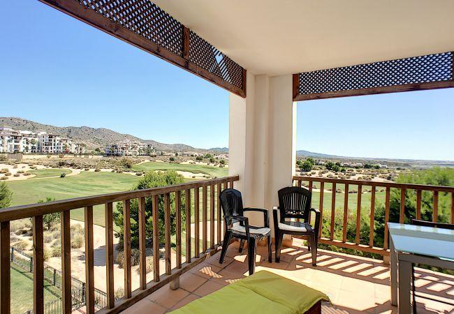 Appartement de vacances Frontlinie Golf, Gemeinschaftspool, gratis WiFi, Balkon (2454082), Baños y Mendigo, , Murcie, Espagne, image 4