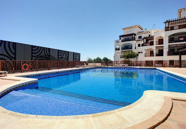 Appartement de vacances Frontlinie Golf, Gemeinschaftspool, gratis WiFi, Balkon (2454082), Baños y Mendigo, , Murcie, Espagne, image 10