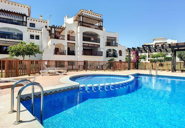 Appartement de vacances Frontlinie Golf, Gemeinschaftspool, gratis WiFi, Balkon (2454082), Baños y Mendigo, , Murcie, Espagne, image 1