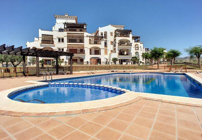 Appartement de vacances Frontlinie Golf, Gemeinschaftspool, gratis WiFi, Balkon (2454082), Baños y Mendigo, , Murcie, Espagne, image 17