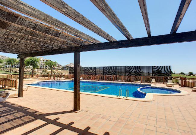 Appartement de vacances Frontlinie Golf, Gemeinschaftspool, gratis WiFi, Balkon (2454082), Baños y Mendigo, , Murcie, Espagne, image 18